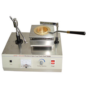 0-600W, -6~400C, Coal Gas, Cleveland Open Cup Flash Point Tester