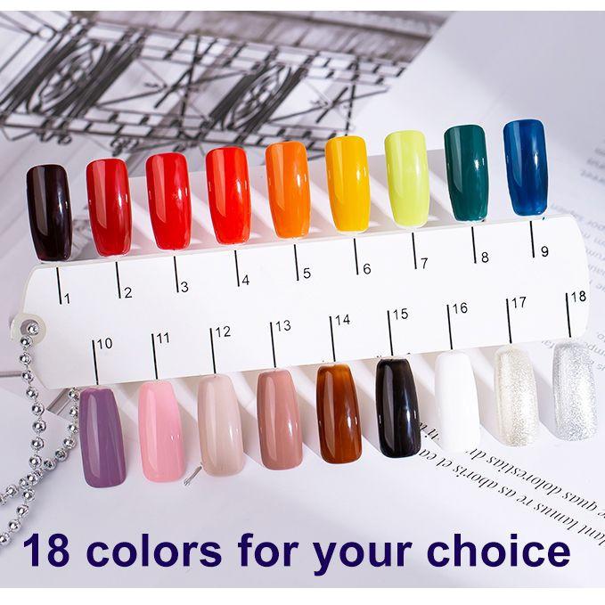 Gel Nail Polish Color Bottle