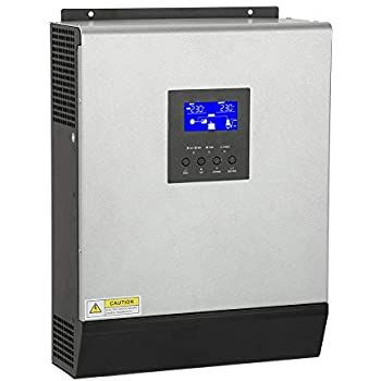 Hot Sale High-frequency Off-grid 24VDC 3kva Solar Inverter with PWM Controller 50A