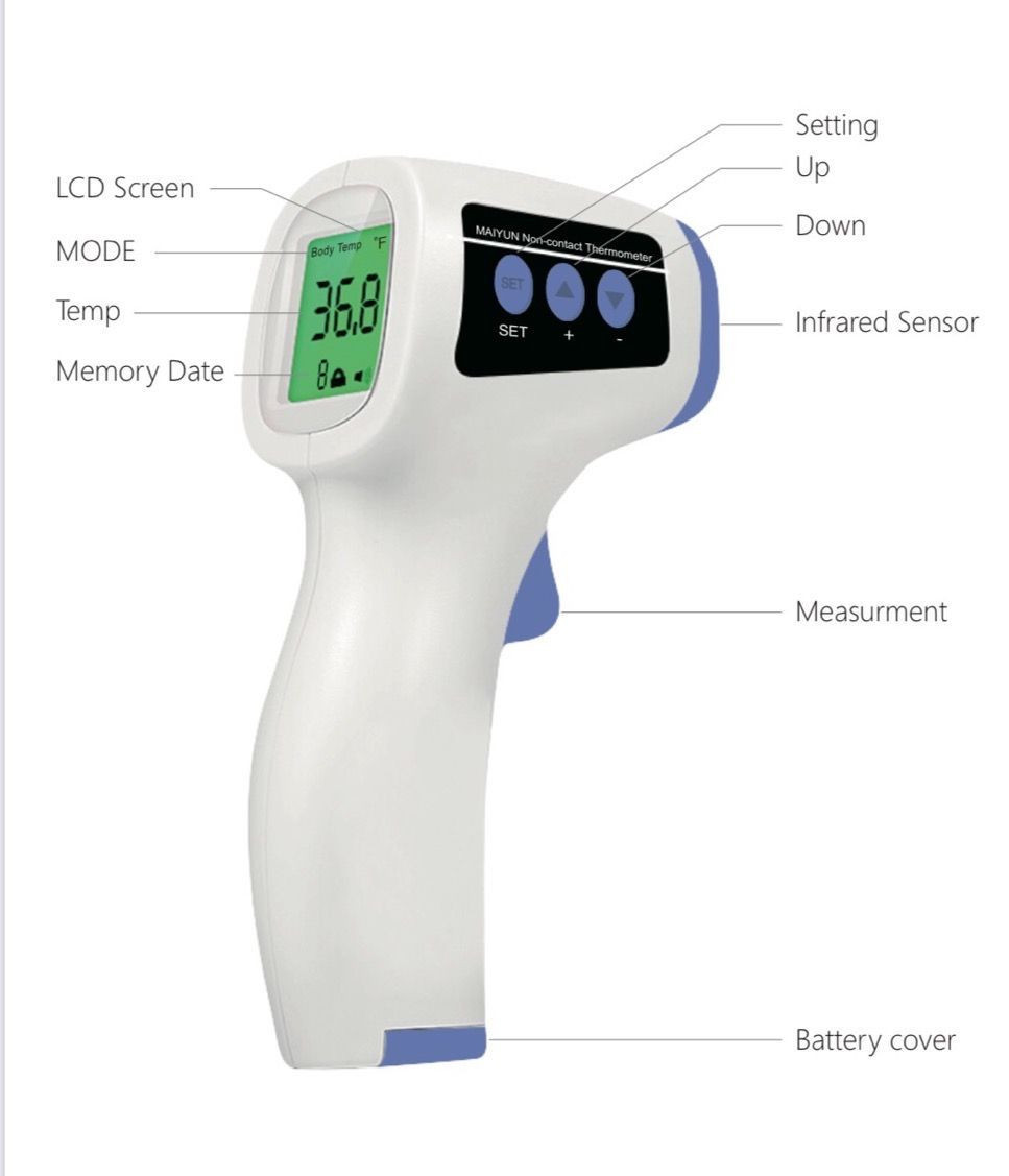 Thermogun contactless infrared thermometer