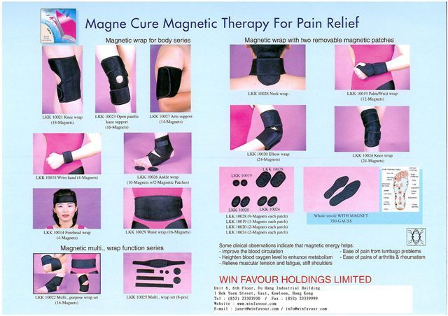 Magnetic body wrap support