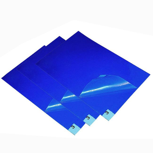 Disposable blue sticky mats