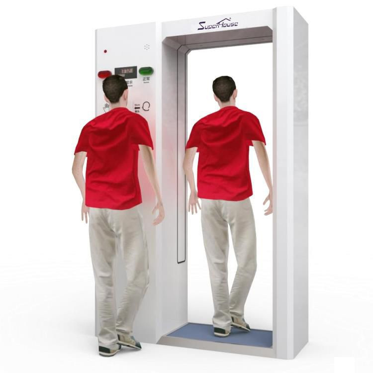 Mobile Housing Smart Intelligent Anti-epidemic Machine disinfection chamber