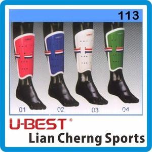 113 PVC Soccer shin guard and child football shin pad shin protector leg guard