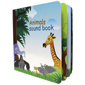 2019 Newest Electronics Books for kids learning with hard cover and Music custom Factory supply