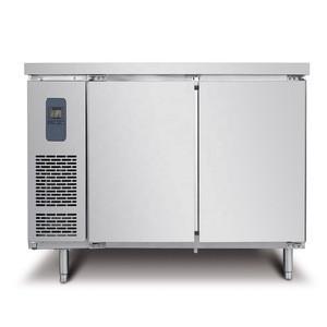 220V 60Hz Hotel Kitchen Equipment Commercial Stainless Steel Horizontal Worktable Refrigerator Freezer