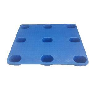 4-entry blow mould plastic pallet