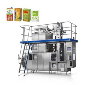 6000BPH Milk/Juice/Tea Aseptic beverage machine