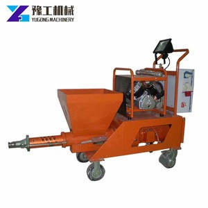 Air compressor cement mortar spray plastering machines for sale