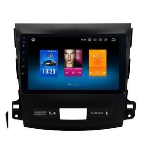 Android 9.1 Car navegacion GPS autostereo radio for Mitsubishi Outlander xl 2 Multimedia Player with plastic frame radio de coch