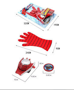 Catterpillar Ultimate Spiderman Gloves With Disc Launcher