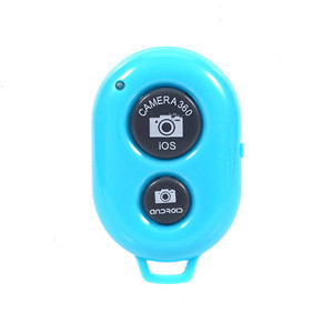 Colorful Mobile Phone Mini Portable Mini Two-Button Selfie Wireless Remote Shutter for Selfie