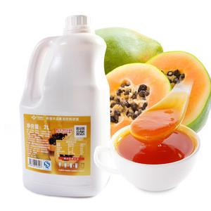 Concentrated papaya puree raw material milk tea shop fruit tea papaya puree