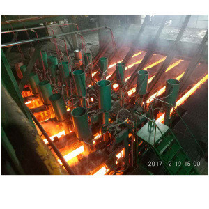 Continuous casting machine steel rebar making machine rolling mill production line