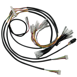 Custom customized lvds 5246 5p connector phd 40p 280 250 6.3 2.8 4.8 terminal machine wire harness cable assembly