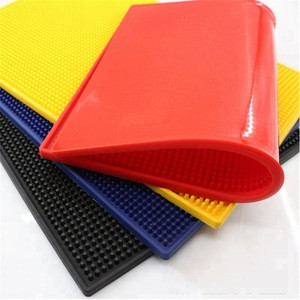 Dongguan Factory Barber Supply Rubber Mat PVC Custom Logo