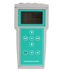 Doppler Portable Ultrasonic Flow Meter