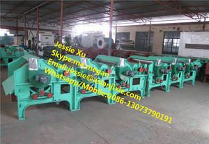 Fabric cotton waste recycling machine / cotton fiber wool opening machine