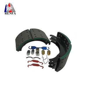 Factory Direct 4515E/4515Q Steel Brake Shoe with Repair Kit