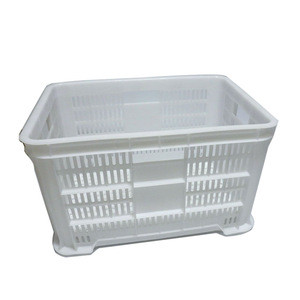 Food grade HDPE plastic packing crate/ custom shipping boxes