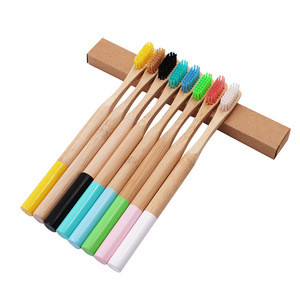 Free Sample Products Cepillos De Dientes De Bambu, Products Supply Organic Reusable Bamaboo Ncharcole Tooth Brushes