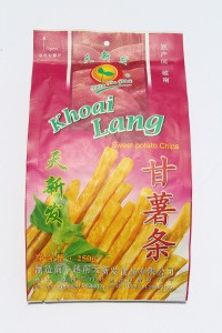 Fried Vegetable Snacks Sweet Potatoes Chips Healthy Nutritional from Viet Nam with good price