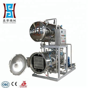 Full automatic retort food sterilizer for pouch food