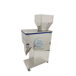 Ground coffee weighing filling machine