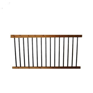 High Quality Black Aluminium Handrail aluminium fence