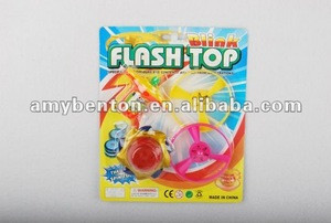 Hot fashion toy spinning tops light and music AB68766