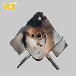 ISO9001 OEM competitive price custom zinc metal sliver motorcycle spare parts