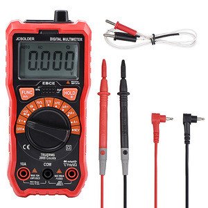 JCD Digital Multimeter Auto Ranging 6000 Counts AC/DC voltage meter Universal Power Large LCD Scrern