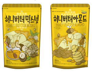 KOREAN SNACK,FOOD-GILIM HONEY BUTTER ALMOND
