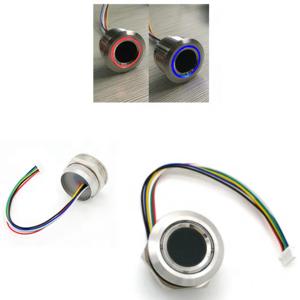 LED Control DC3.3V 200 Capacity Capacitive Fingerprint Sensor Module