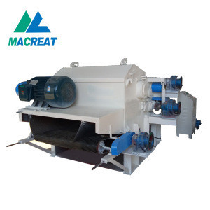 MACREAT Popular Series wood crusher LDBX216 Drum Wood Chipper Machine for selling