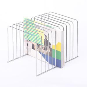 Metal wire mesh tabletop dvd display cd rack