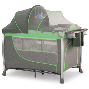 Multi-function removable Baby travel cot crib kids safety playpen portable playard