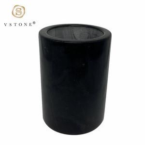 Natura Black Marble Wine Cooler Wine Chiller Wine Holder for Champagne