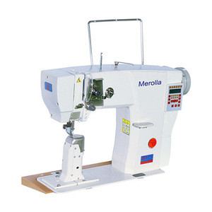 New Multi function Germany brand Merolla Electric light oil Industrial sewing machine for shoe bag belt cloth leather jeans