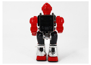 Nice design battery operated plastic electric wholesale toy robot with sound