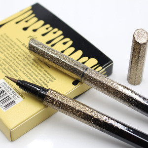 Private Label Gold Liquid Eyeliner Waterproof Eyeliner