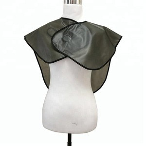 Promotion Black Hairdressing Cape Custom Printed Cutting Cape