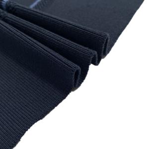 Ribbed cuff rib knit fabric for jacket collar hem