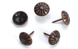 Sofa Decorative Bubble Door Nails for Furniture in Nickel Gold Antique Copper Bronze 19*23mm