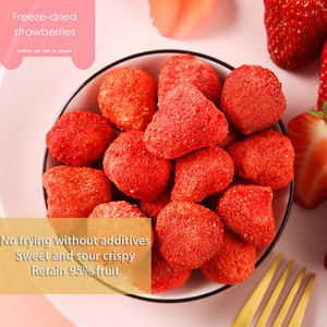 Wholesale Pure Natural FD 100% Fruit Fig Half Health Food Freeze Dried Strawberry
