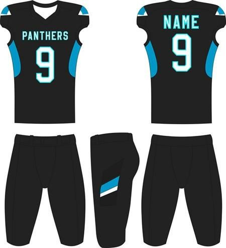 Top Quality Cheap custom design sublimated American Football training uniform wear