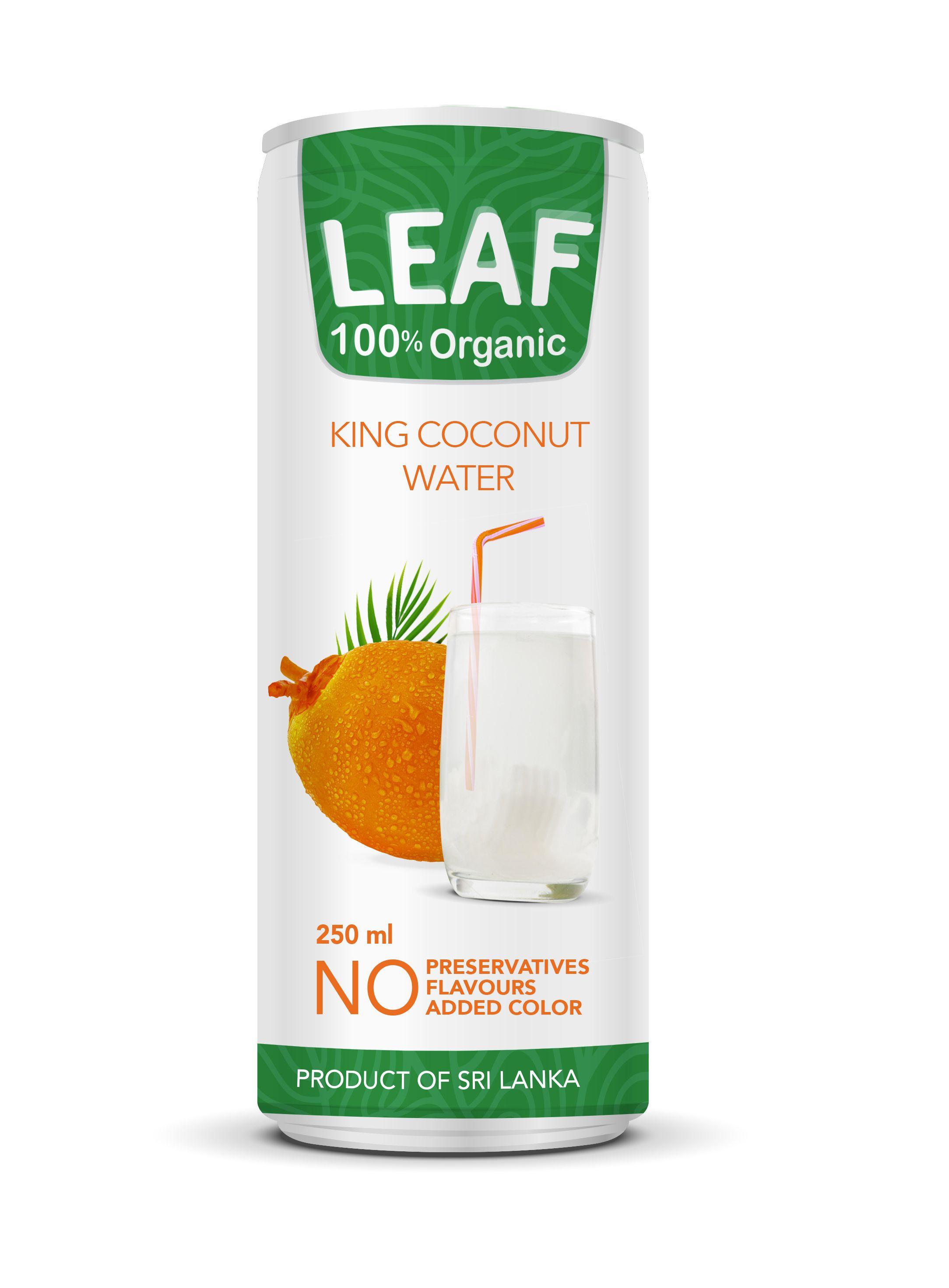 Leaf Organic King Coconut Water