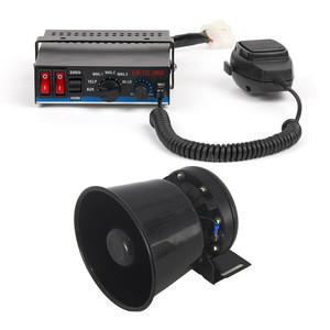 100W 150W 200W Fire Truck Louder Police Siren Speaker Horn Alarm Amplifier Ambulance Hooter Police Siren Horn