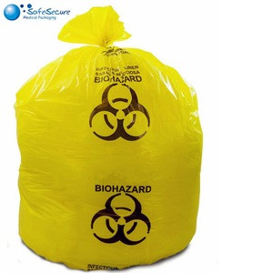 2018 New product best quality disposable biohazard garbage bags