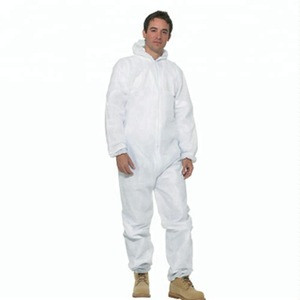 Asbestos Removing SMS Disposable Coverall / Microporous Type5/6 Australian Compliant Protective Coverall